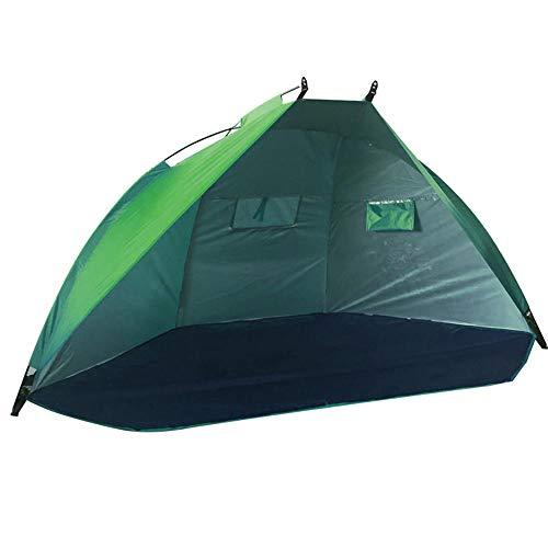 CHENGWANG Tienda de campaña para el sol, resistente al viento, para la playa, playa, playa, pesca, camping, poliéster, picnic, fotografía de viaje