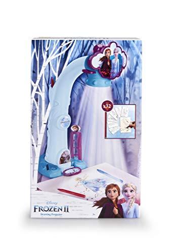 Magic Artist - Proyector de Frozen 2 para Dibujar y Pintar, Recomendado a Partir de 3 Años, Multicolor (Famosa 700015282)