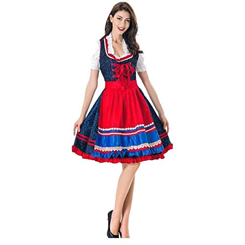 ZUICHU Cosplay meid kostuum halloween bier meisje jurk meid kostuum fase kostuum