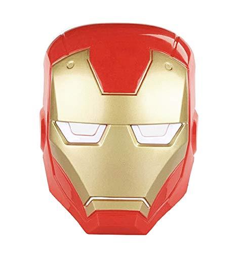 Mscara - hombre de hierro - adultos - nios - carnaval - halloween - disfraz - cosplay de excelente calidad - idea de regalo - accesorios iron man cosplay