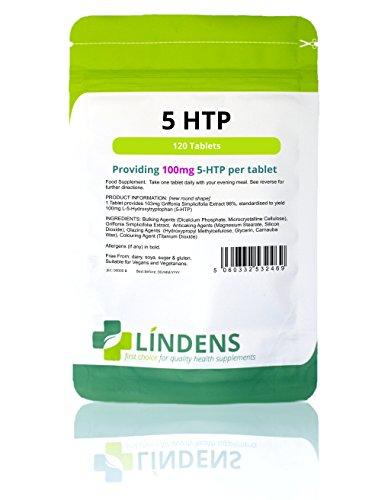 Lindens 5HTP 100mg Pastillas 120 Pack...