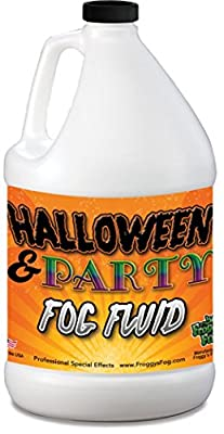 1 Gallon (128 Oz.) Great Party & DJ Fog Juice for Water Based Fog Machines - American Made - Perfect Fog Fluid for Small 400 Watt to Higher Wattage 1500 Watt Foggers by Froggys Fog