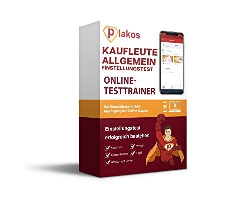 Kaufmann / Kauffrau (allgemein) Einstellungstest Online-Testtrainer: interaktive und authentische Aufgaben zu Allgemeinwissen, Konzentration und Logik | Vorbereitung auf das Assessment Center