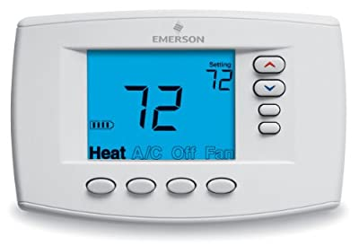 Emerson 1F95EZ-0671 Easy-Reader 7-Day Programmable Thermostat