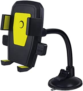 Wanxiaoyyyinzj Car Mount, Car Mobile Phone Holder Installation Cup Holder Universal Car Mobile Phone Windshield Mobile Pho...