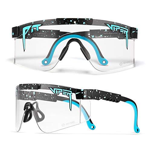 Hombres Polarizados Gafas De Ciclismo, Gafas De Sol Deportivas Anti-UV400 para Béisbol Correr Pesca De Conducción Golf A
