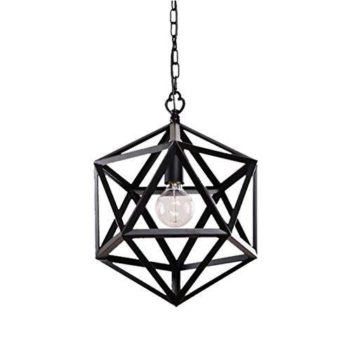 Lámparas de araña Iluminación de la lámpara decorativa de pasillo único cabeza de la lámpara de la personalidad nórdica restaurante Barra tienda de ropa Estudio del Corredor lamparas colgante
