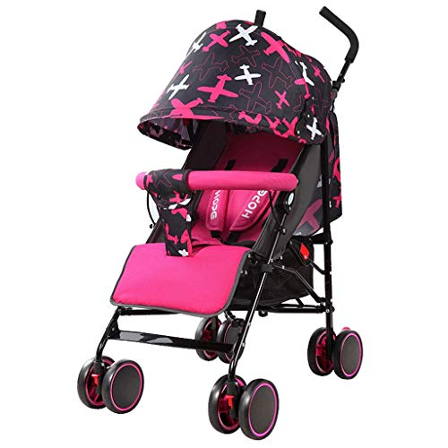 Fantastic Prices! DZFZ Strollers for Toddlers Lightweight Folding Baby Sitting and Lying Comfort Sho...