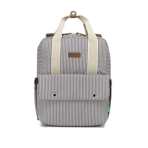 Babymel Georgi Eco Friendly Convertible Backpack (Stripe Navy)