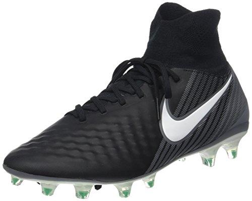 Nike Herren Magista Orden II FG Fußballschuhe, Schwarz (Black/White-Dark Grey-Stadium Green), 40.5 EU