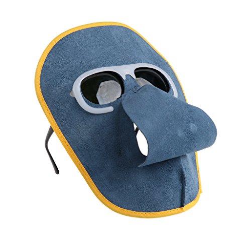 Casco de Soldadura Oscurecimiento Automático Caretas de Soldar Solar Duradero Unisexo - Gafas negras
