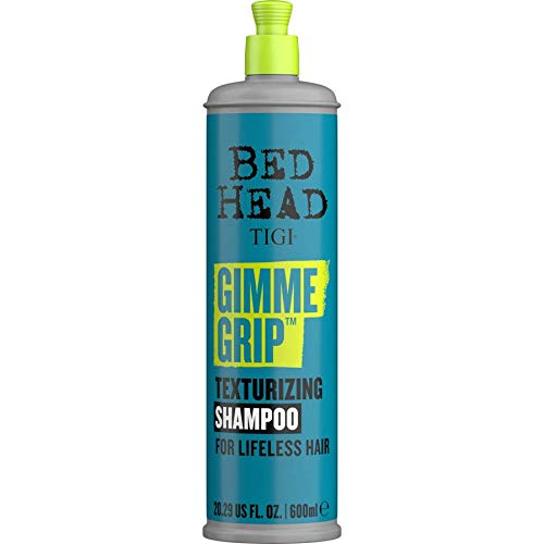 Bed Head by TIGI Gimme Grip Texturizing Shampoo for Hair Texture 600ml (Pack of 3)