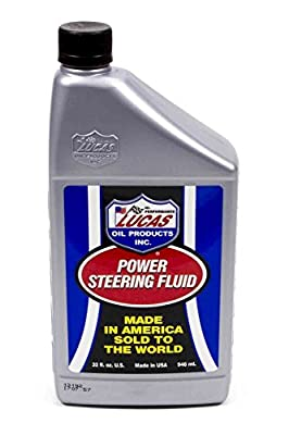 Lucas Oil Products Power Steering Fluid12oz 12 Quart 1 Pack