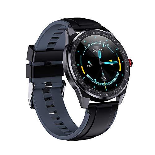 OWSOO Smartwatch Orologio Fitness Uomo Donna,Sports Band Touch Screen,Impermeabile IP68,Frequenza cardiaca,Ossigeno nel sangue,Monitor sonno,Promemoria informazioni chiamata,Contatore calorie passo