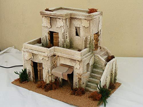Minarett Doppel-10cm Zubehör Gebäude für Krippe