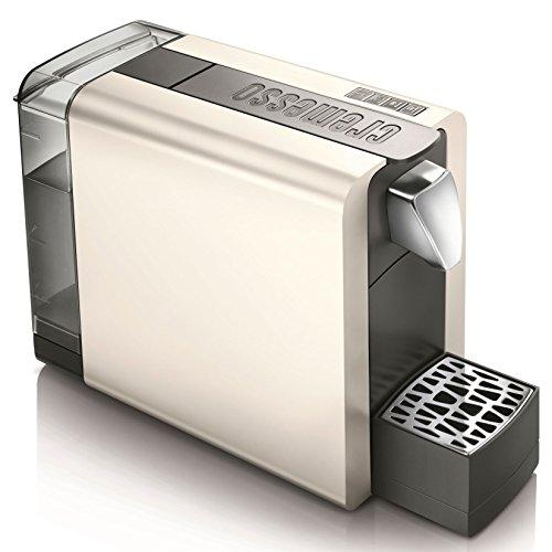 Cremesso Compact One II Cream White - Kaffeekapselmaschine für das Schweizer Cremesso System
