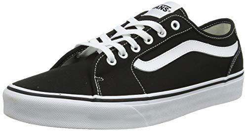 Vans Herren Filmore Decon Sneaker, Schwarz ((Canvas) Black/White 187), 39 EU