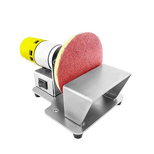 Mini lijadora de disco eléctrica: máquina pulidora de 6000r / min, máquina...