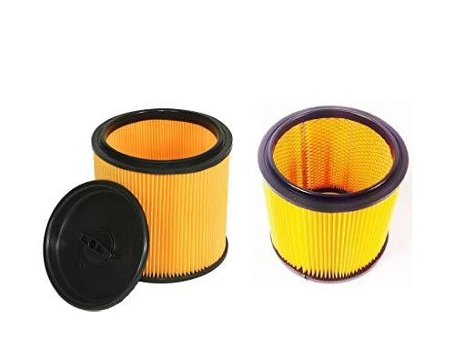 Parkside LIDL 91099009 & 91092030 - Juego de filtros para aspiradoras húmedas y secas