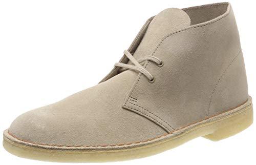 Clarks Originals Herren Desert Boots, Beige (Sand Suede), 44.5 EU