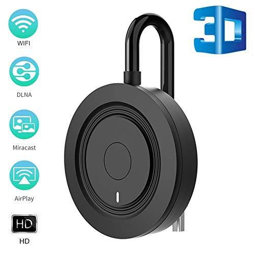 HD 4K HDMI Wireless Display Dongle, 2.4G Mini Wireless Display Receiver, WiFi Display Dongle PC naar TV, compatibel met Macbook