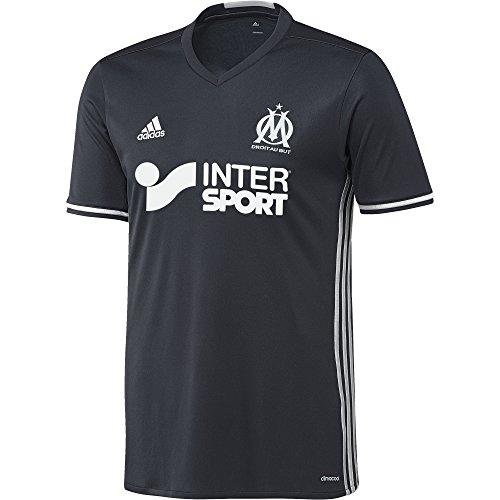 adidas Herren Olympique Marseille Replica Auswärts Trikot, Night Navy/Matte Silver, L