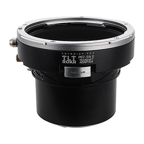 Fotodiox Pro TLT ROKR - Tilt/Shift Lens Mount Adapter for Pentax 6x7 (P67, PK67) Mount SLR Lenses to Sony Alpha E-Mount Mirrorless Camera Body