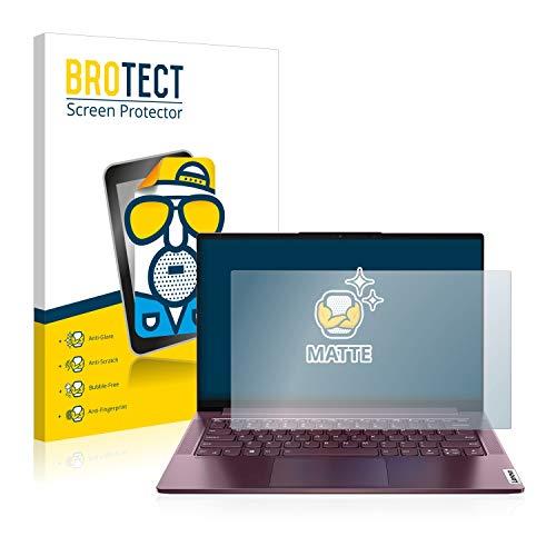 BROTECT Entspiegelungs-Schutzfolie kompatibel mit Lenovo Yoga Slim 7 14ARE05 Non-Touch Displayschutz-Folie Matt, Anti-Reflex, Anti-Fingerprint
