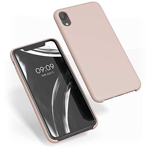 kwmobile Cover Compatibile con Apple iPhone XR - Custodia in Silicone TPU - Back Case Protezione Cellulare Rosa Antico