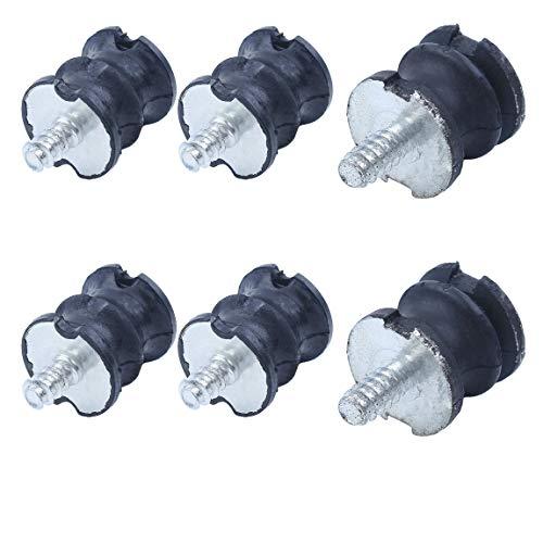 6Pcs Isolater Buffer Mounts Set fit HUSQVARNA 268 272 61 266 JONSERED 625 630 670 Chainsaw Parts