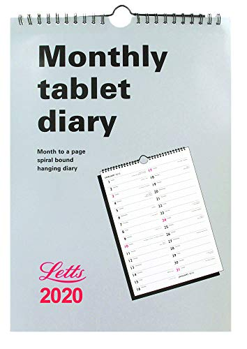 Letts 2020 Business Calendar A4 Tablet MTV Engels
