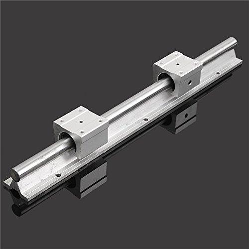 EsportsMJJ SBR16 400mm ondersteuning Lineaire rail optische as gids met 2 stks SBR16UU lagerblokken