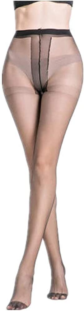 UHUBBG 3-Pack Women'S Pantyhose Thin Section Anti-Hook Silk Sheer Tights Stockings