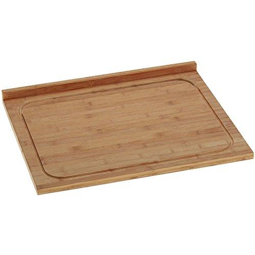 kela 11785 Planche Universelle Kiana 53x46cm en Bambou, Beige, 33 x 25 x 1,2 cm