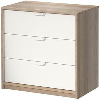 Ikea Askvoll – Cómoda de 3 cajones – 70 x 68 cm: Amazon.es: Hogar