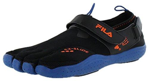 Fila Skeletoes Ez Slide Drainage Mens Minimalist Shoes Black Size 13