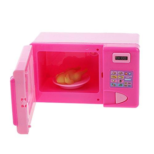 Amazon.es: Juguetes Casa de Muñeca Mini Horno Microondas Plástico ...