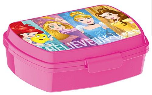 ALMACENESADAN 2296; Rechteckiger, mehrfarbiger Sandwichmaker Disney Princesas; Innenmaße 16,5x11,5x5,5 cm; Kunststoffprodukt; Kein BPA