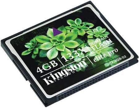 Kingston 133x 4gb Compact Flash Cf Memory Card
