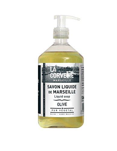 La Corvette Savon Liquide de Marseille Olive 500 ml