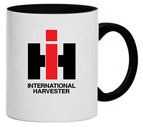 Bimaxx Tasse   IHC International Harvester   weiß/schwarz