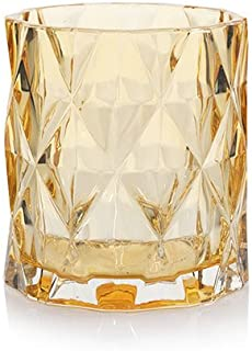 Yankee Candle Gold Fractal Glass Votive Candle Holder