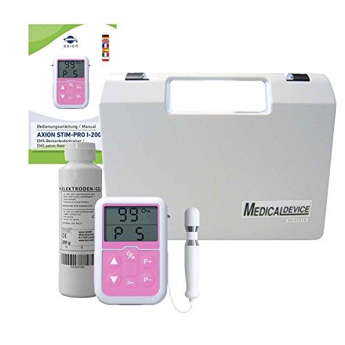 Appareil rééducation périnée - set avec électrostimulateur + sonde anale + gel lubrifiant - Traitement de l'incontinence et massage de la prostate - pour homme