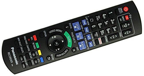 Original Panasonic N2QAYB001046 Fernbedienung für DMR-BCT730, DMR-BST735, DMR-BCT735, DMR-BST835