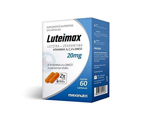 Luteimax (Luteína & Zeaxantina) 20mg - 60 Cáps, Maxinutri