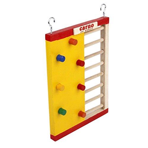 Pixnor aufsteigender Leiter aus Holz für Hamster Spielzeug