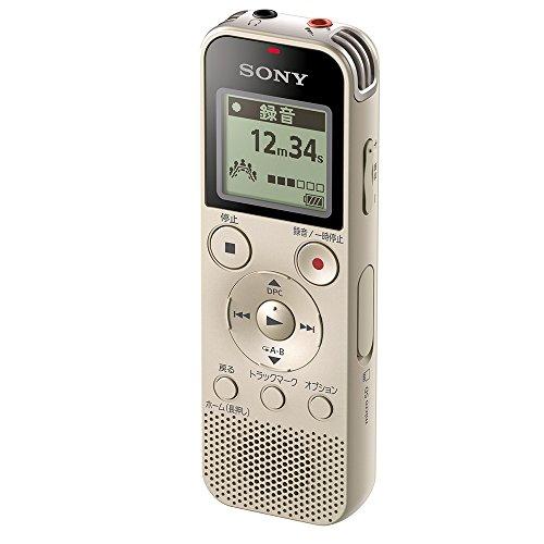 ソニー ICレコーダー 4GB リニアPCM録音対応 FMラジオチューナー内蔵 ゴールド ICD-PX470F N