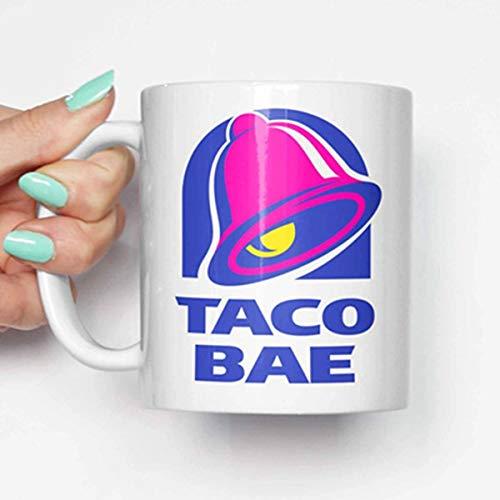 New Taco Bell bae - funny mug, gifts for him, meme mug, unique mug, office mug, christmas mug, gifts for her