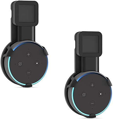 Outlet Wall Mount Stand for Echo Dot 3rd Gen Hanger Holder Case Bracket Space Saving Perfect product image