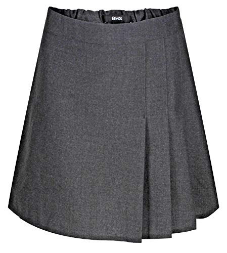 BHS Girls School Skirt Adjustable Waist